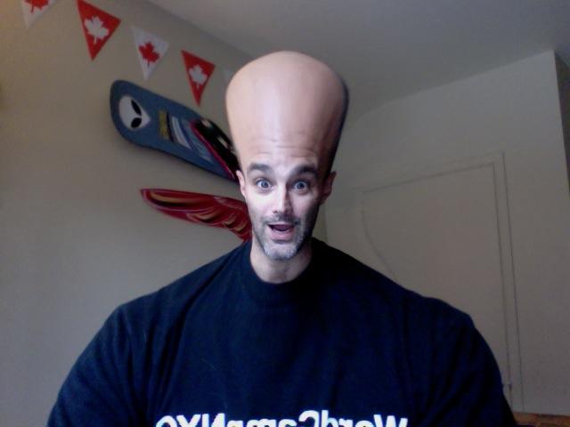 Alien-head