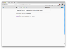 Provides a clean, minimal toolbar on mouse movement.