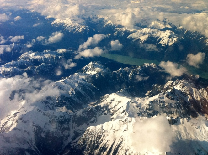 Canadian Rockies in all their Spring majesty