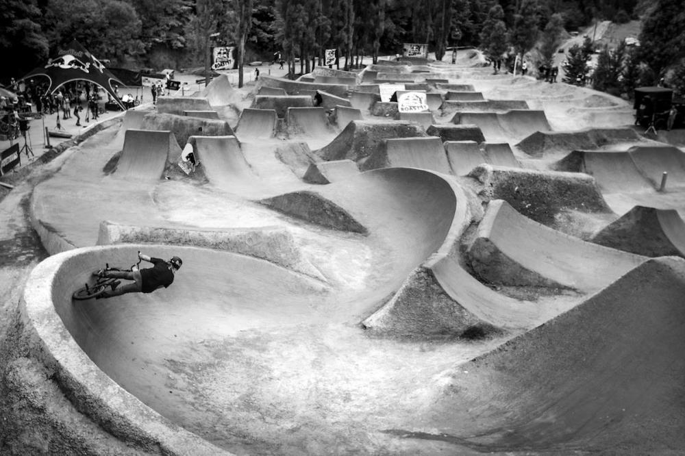 Red Bull BMX track