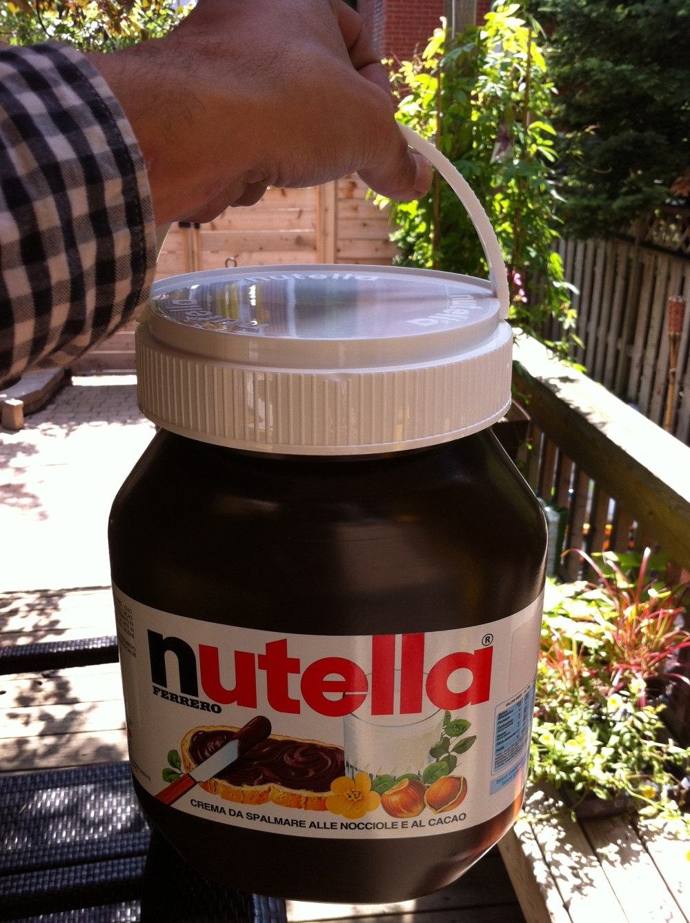 Nutella for giants